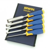 Set dalti lemn MS500 6, 10, 16, 20, 26 mm in husa textila IRWIN® Marples®