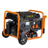 Generator curent monofazat 6,3 kW demaror electric GG 7300 EW STAGER